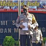 Pimpin Korps Raport Kenaikan Pangkat 140 Personil Polres Gowa, AKBP. Budi Susanto S. Ik, Titip Pesan Jaga Amanah Negara