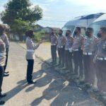 Maksimalkan Pelayanan, AKP. Amelia Normadiah S. Ik, Chek Personil Dan 3 Unit Mobil SIM Keliling