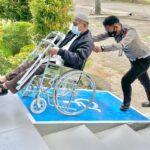 Hanya Di Satpas SIM Polrestabes Penyandang Disabilitas 'Dimanja' Pelayanan, Menuju Polri Yang Presisi