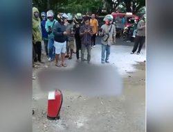 Bawa Jerigen Berisi BBM, Korban Lakalantas Hangus Terbakar