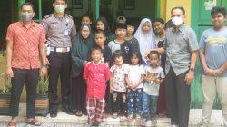 Share And Charity, Kasubdit Regident Ditlantas Polda Sulsel. AKBP. M. Yusuf S. Ik, Kunjungi Panti Asuhan Busthanul Islamiyah